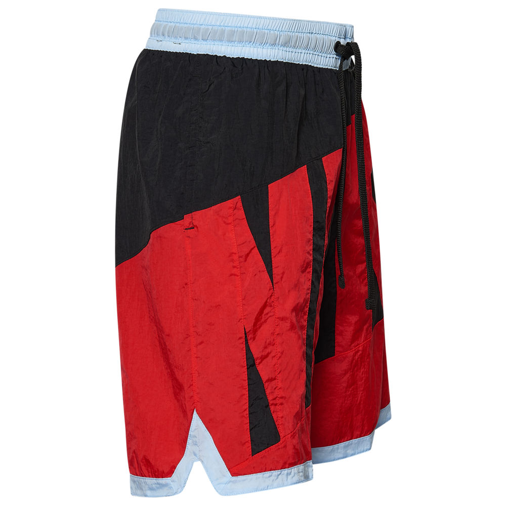 ナイキ Nike メンズ バスケットボール ショートパンツ ボトムス・パンツ【Throwback Graphic Shorts】Black/University Red/Psychic Blue