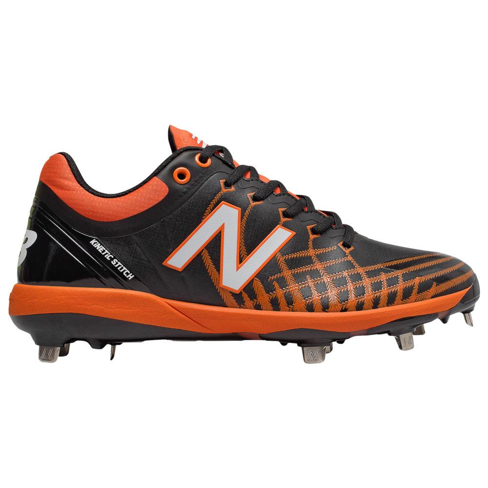 ニューバランス New Balance メンズ 野球 シューズ・靴【4040v5 Metal Low】Black/Orange