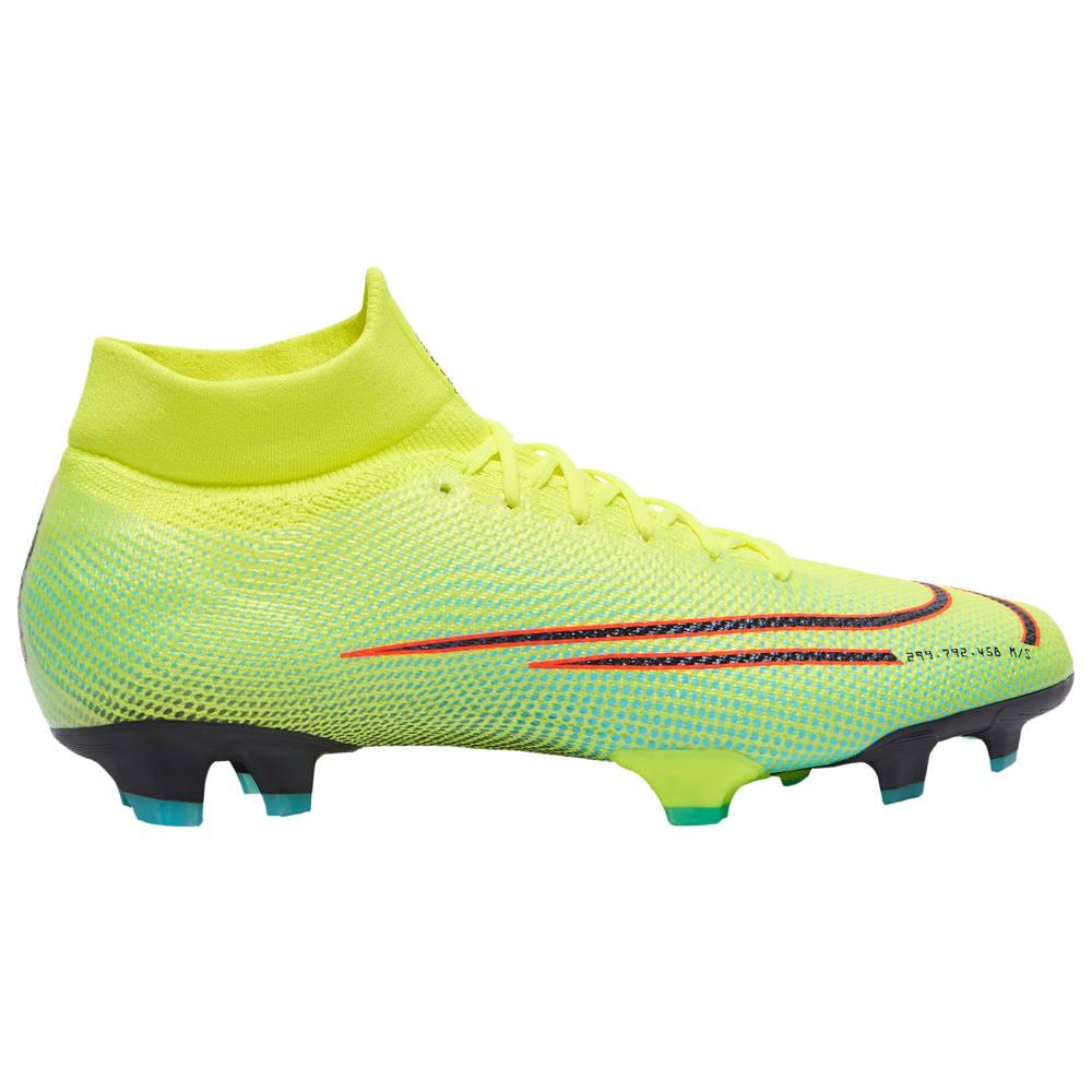 ナイキ Nike メンズ サッカー シューズ・靴【Mercurial Superfly 7 Pro MDS FG】Lemon Venom/Black Aurora/Green Dream Speed