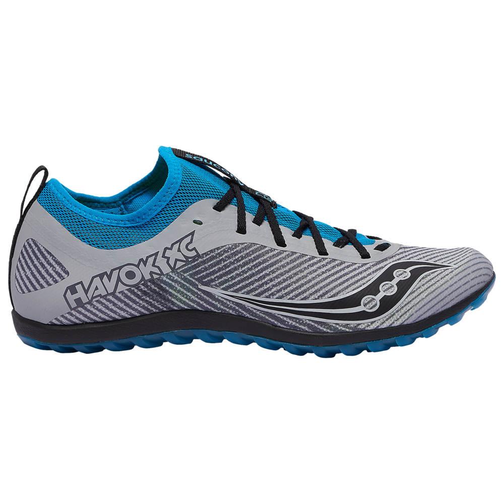サッカニー Saucony メンズ 陸上 シューズ・靴【Havok XC2 Flat】Grey/Blue