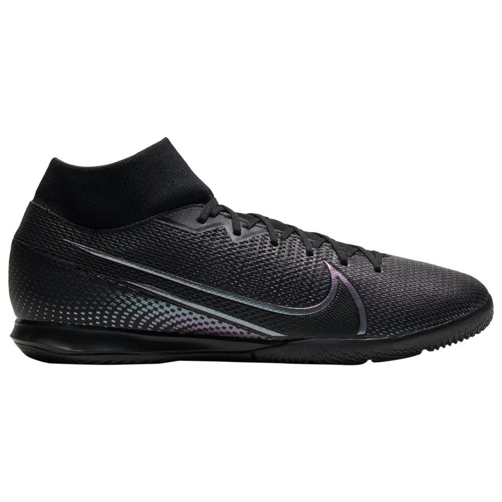 ナイキ Nike メンズ サッカー シューズ・靴【Mercurial Superfly 7 Academy IC】Black/Black Kinetic Black