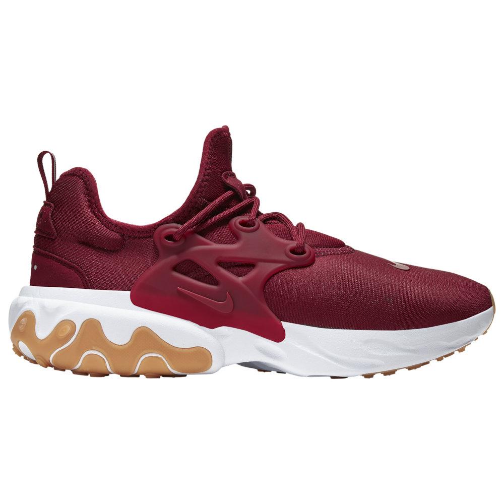 ナイキ Nike メンズ ランニング・ウォーキング シューズ・靴【React Presto】Team Red/Team Red/White/Gum Light Brown
