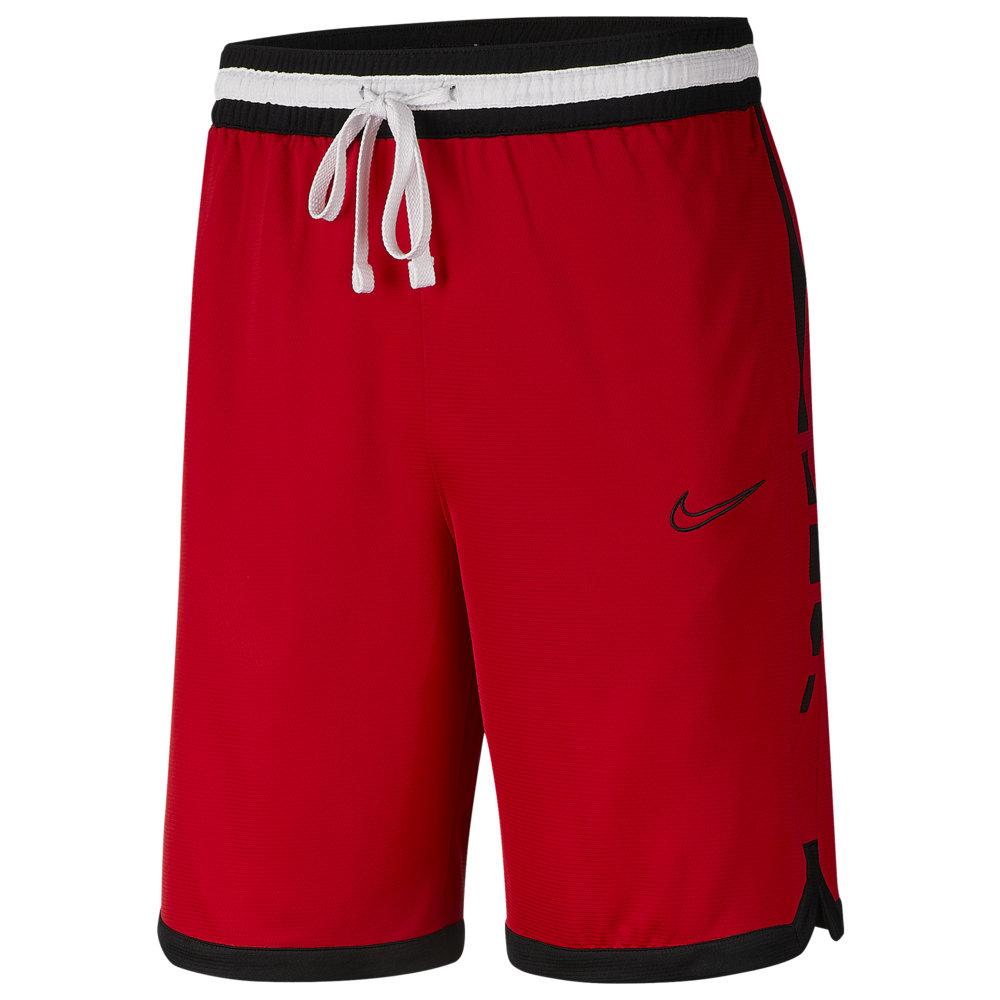 ナイキ Nike メンズ バスケットボール ショートパンツ ボトムス・パンツ【Elite Stripe Shorts】University Red/Black