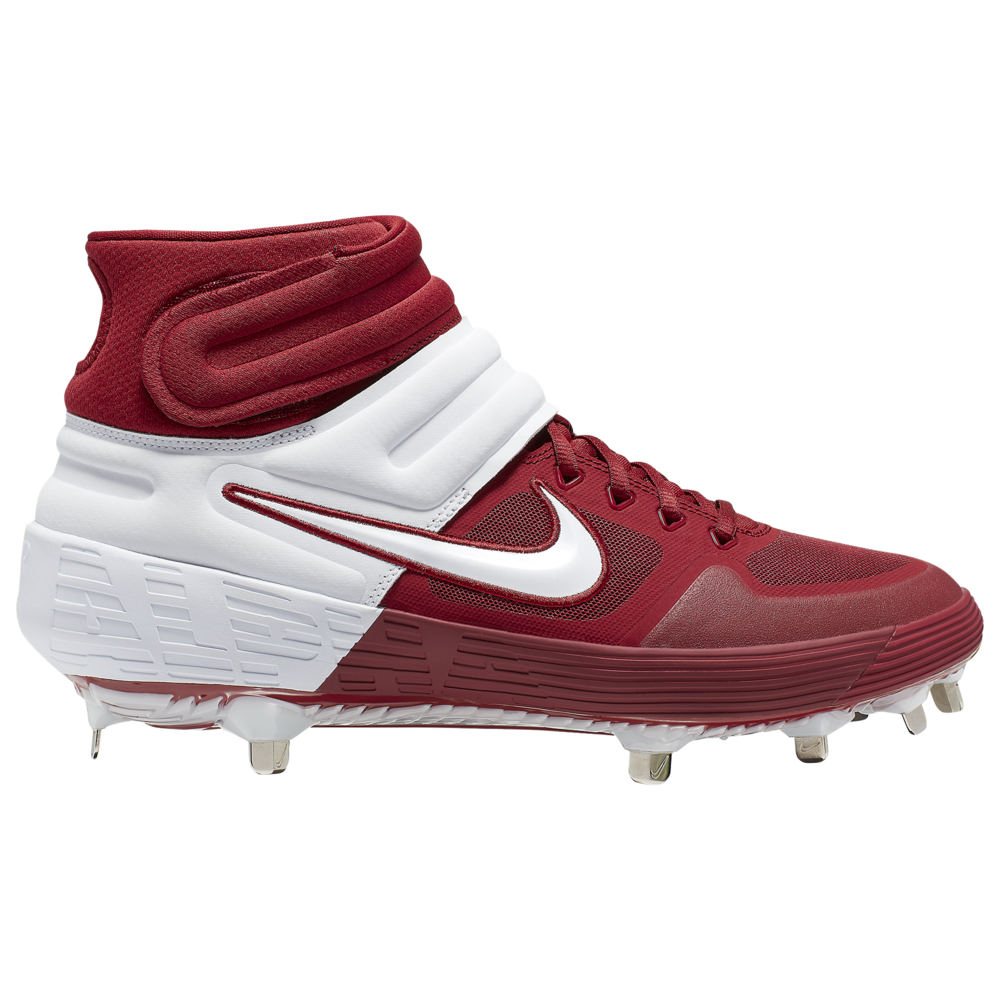 ナイキ Nike メンズ 野球 シューズ・靴【Alpha Huarache Elite 2 Mid】Team Crimson/White/Bright Crimson