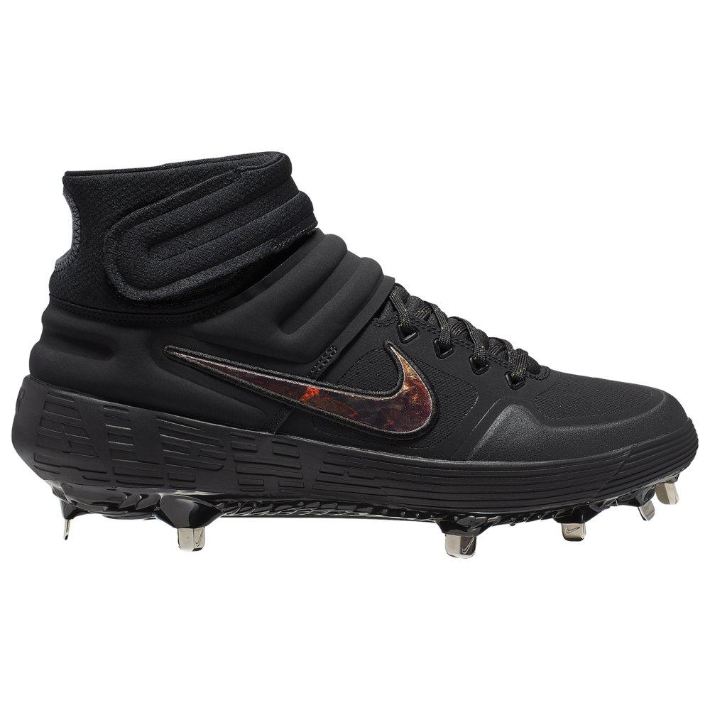 ナイキ Nike メンズ 野球 シューズ・靴【Alpha Huarache Elite 2 Mid】Black/Black/Dark Grey