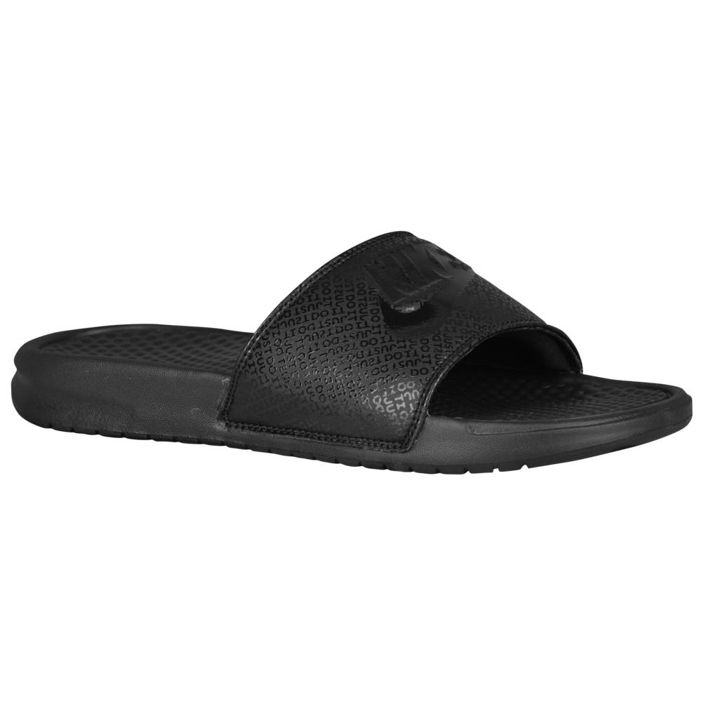ナイキ Nike メンズ サンダル シューズ・靴【Benassi JDI Slide】Black/Black/Black