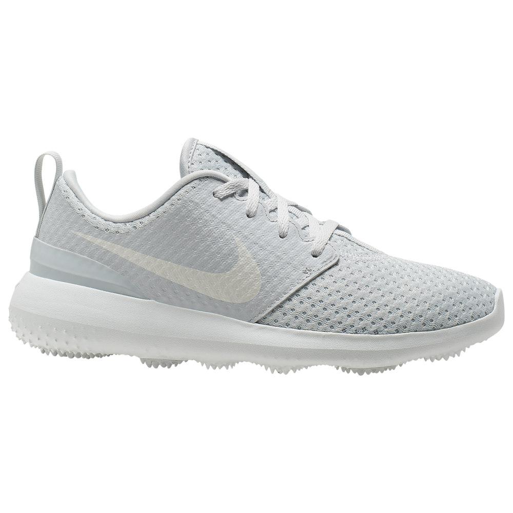 ナイキ レディース ゴルフ シューズ・靴 Pure Platinum/Metallic White 【サイズ交換無料】 ナイキ Nike レディース ゴルフ シューズ・靴【Roshe G Golf Shoe】Pure Platinum/Metallic White