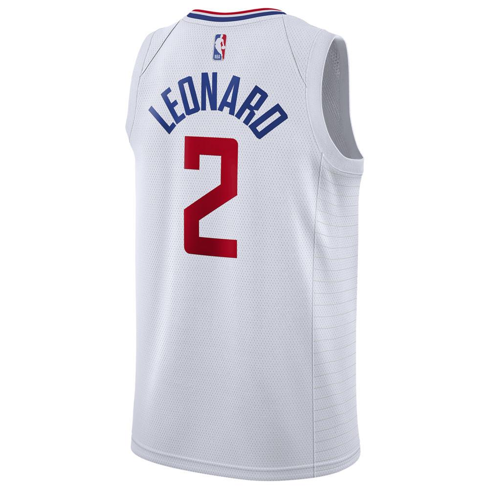 ナイキ Nike メンズ バスケットボール トップス【NBA Swingman Jersey】NBA Los Angeles Clippers Kawhi Leonard White Home