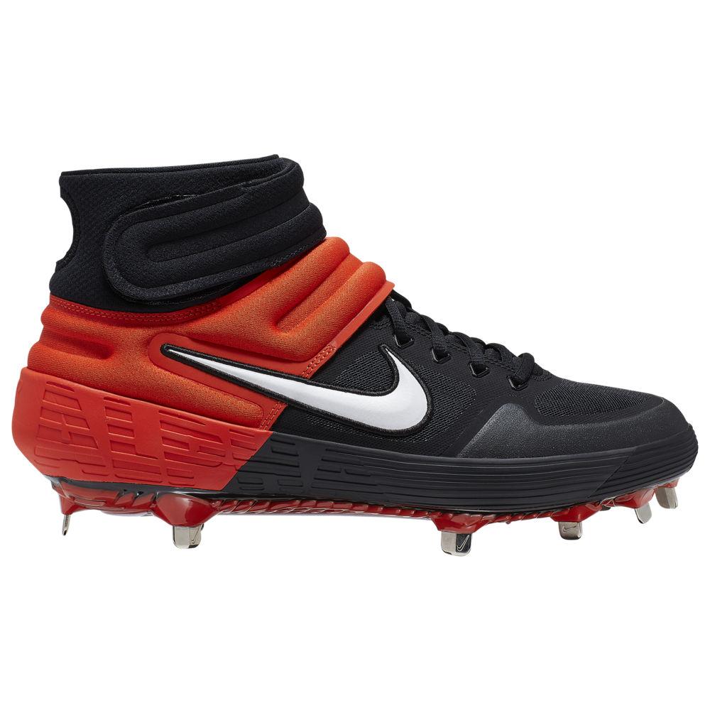 ナイキ Nike メンズ 野球 シューズ・靴【Alpha Huarache Elite 2 Mid】Black/White/Team Orange