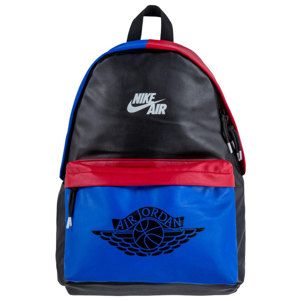 ナイキ ジョーダン Jordan ユニセックス バックパック・リュック バッグ【AJ1 Backpack】Black/Royal/Gym Red