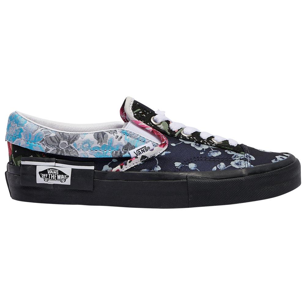 ヴァンズ Vans レディース スケートボード スリッポン シューズ・靴【Slip-On Cap】Brocade/Black Floral
