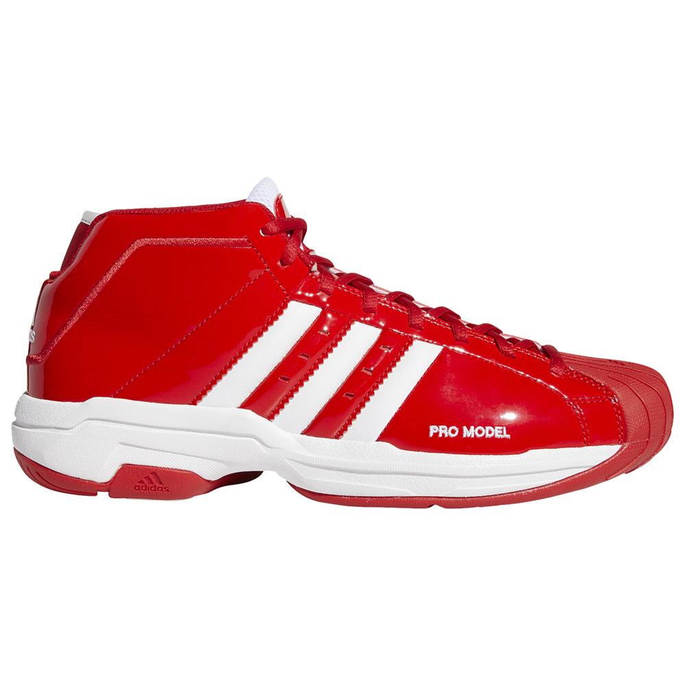アディダス adidas メンズ バスケットボール シューズ・靴【Pro Model 2G】Scarlet/White