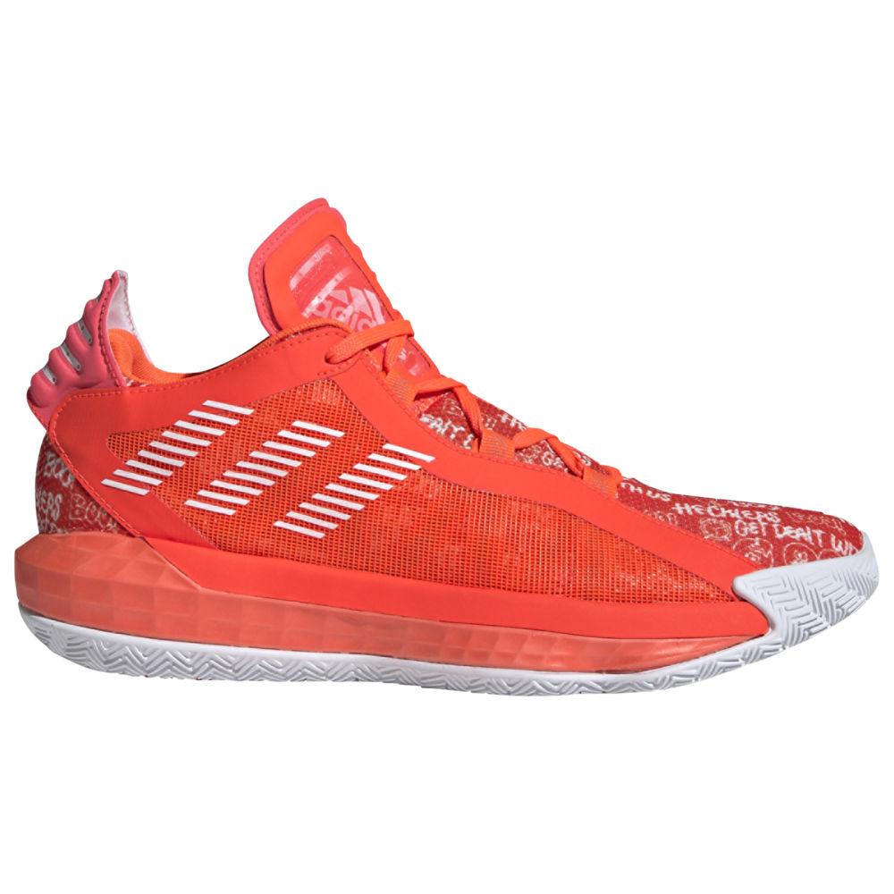アディダス adidas メンズ バスケットボール シューズ・靴【Dame 6】Damian Lillard White/Black/Solar Red