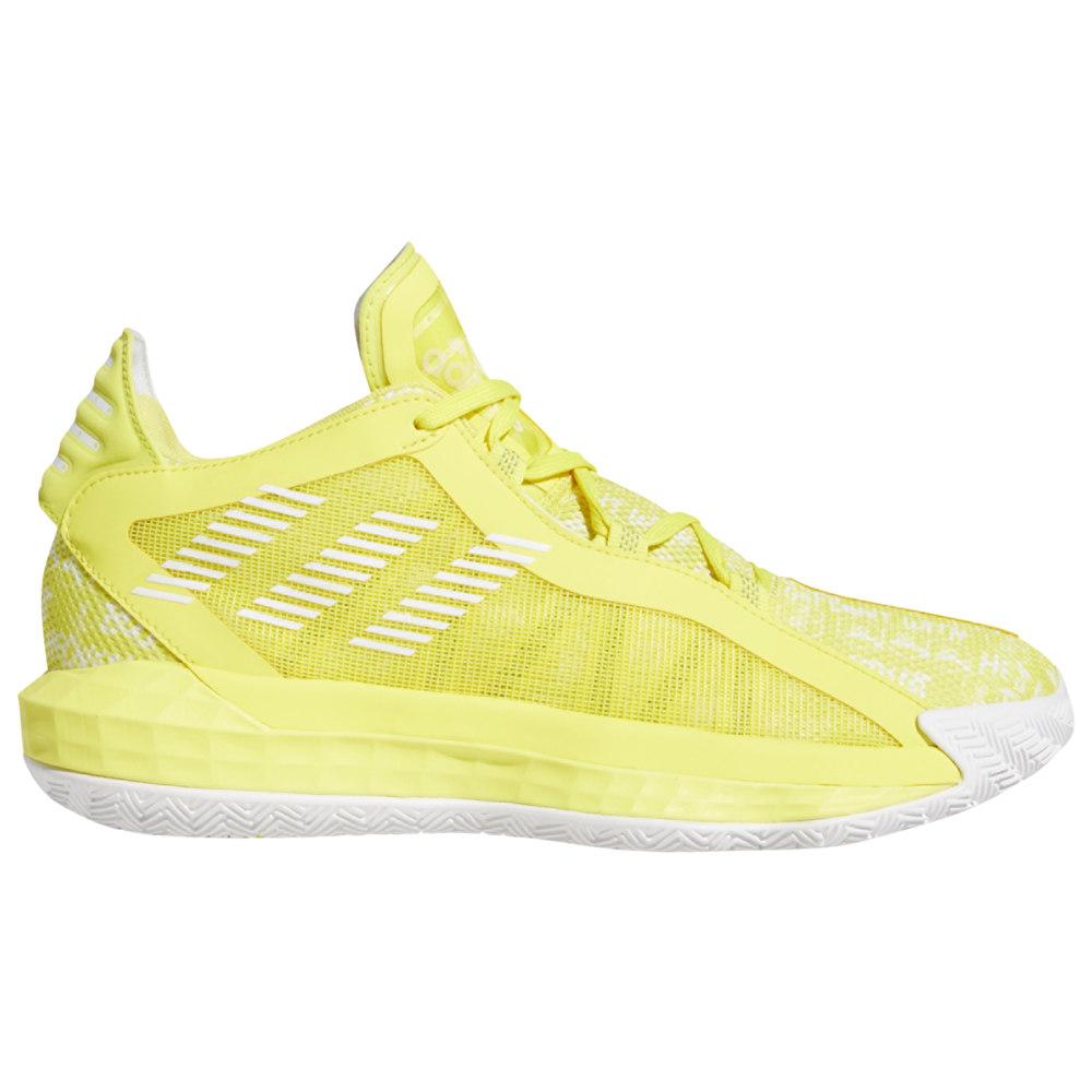 アディダス adidas メンズ バスケットボール シューズ・靴【Dame 6】Damian Lillard White/Black/Shock Yellow