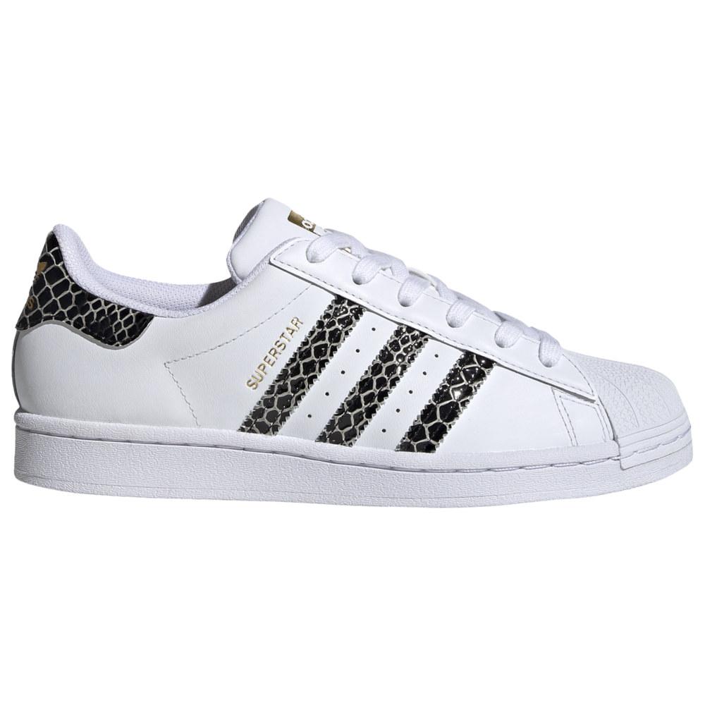 アディダス adidas Originals レディース バスケットボール シューズ・靴【Superstar】White/Black/Gold Metallic