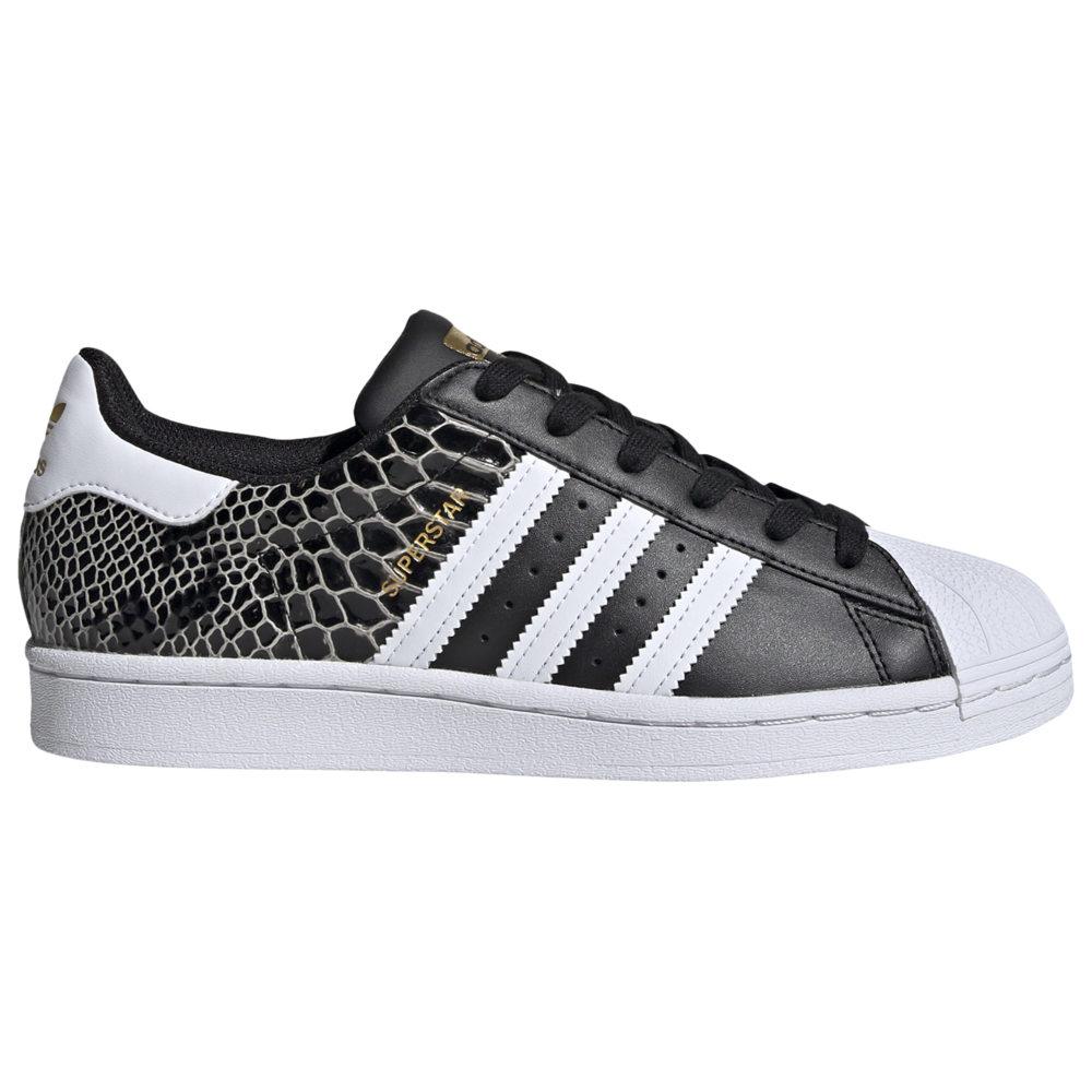アディダス adidas Originals レディース バスケットボール シューズ・靴【Superstar】Black/White/Gold Metallic