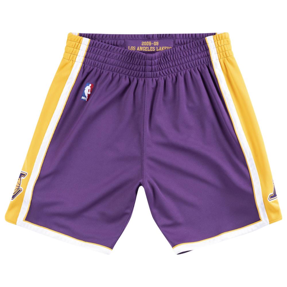 ミッチェル&ネス Mitchell & Ness メンズ バスケットボール ショートパンツ ボトムス・パンツ【NBA Authentic Shorts】NBA Los Angeles Lakers Purple/Yellow to
