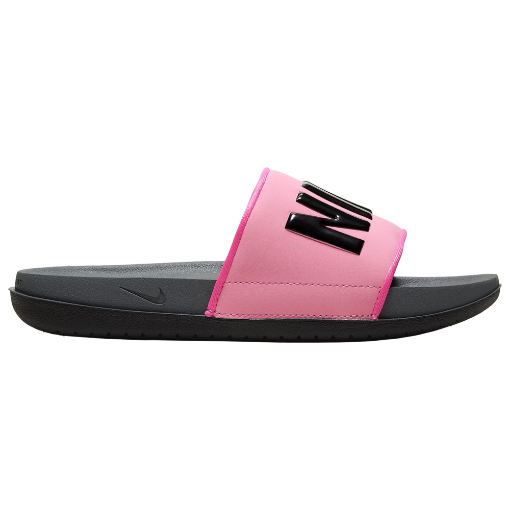 ナイキ Nike レディース バスケットボール シューズ・靴【Offcourt Slide】Pink Blast/Black/Dark Grey