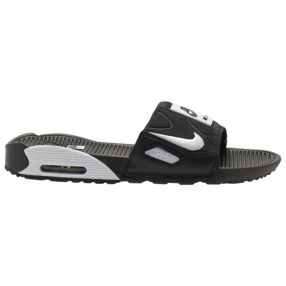 ナイキ Nike メンズ サンダル エアマックス 90 シューズ・靴【Air Max 90 Slide】Black/White