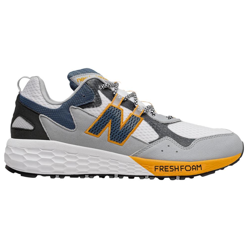 ニューバランス New Balance メンズ ランニング・ウォーキング シューズ・靴【Fresh Foam Crag V2】White/Light Aluminum