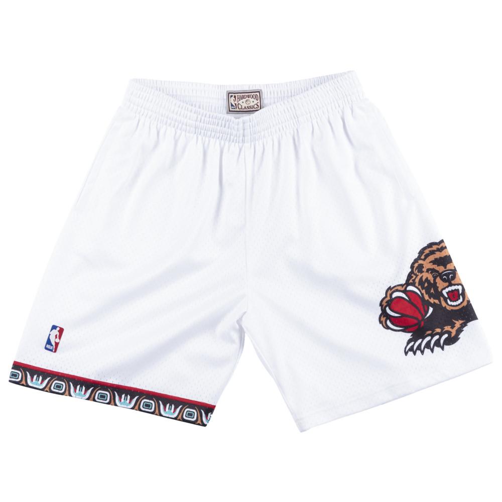 ミッチェル&ネス Mitchell & Ness メンズ バスケットボール ショートパンツ ボトムス・パンツ【NBA Swingman Shorts】NBA Memphis Grizzlies White to
