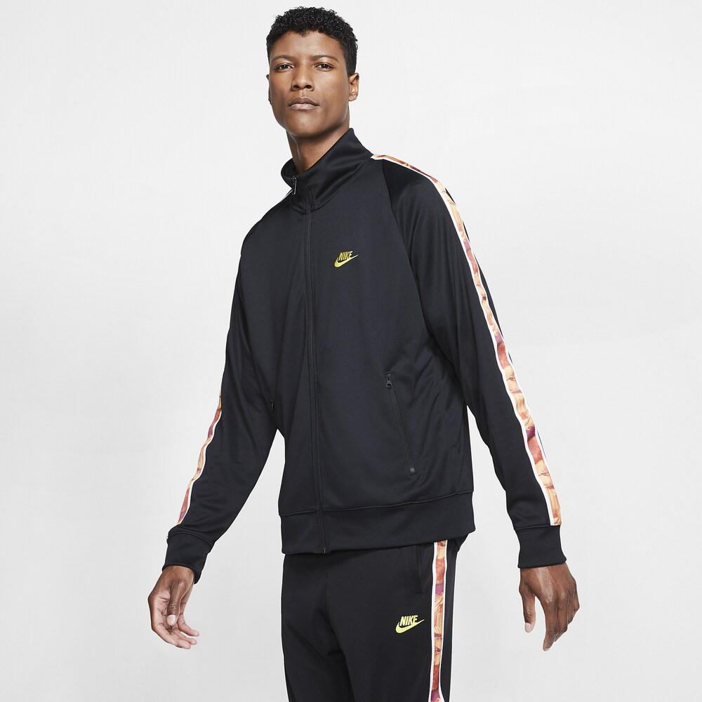 ナイキ Nike メンズ ジャージ アウター【Organic Distortion Jacket】Black