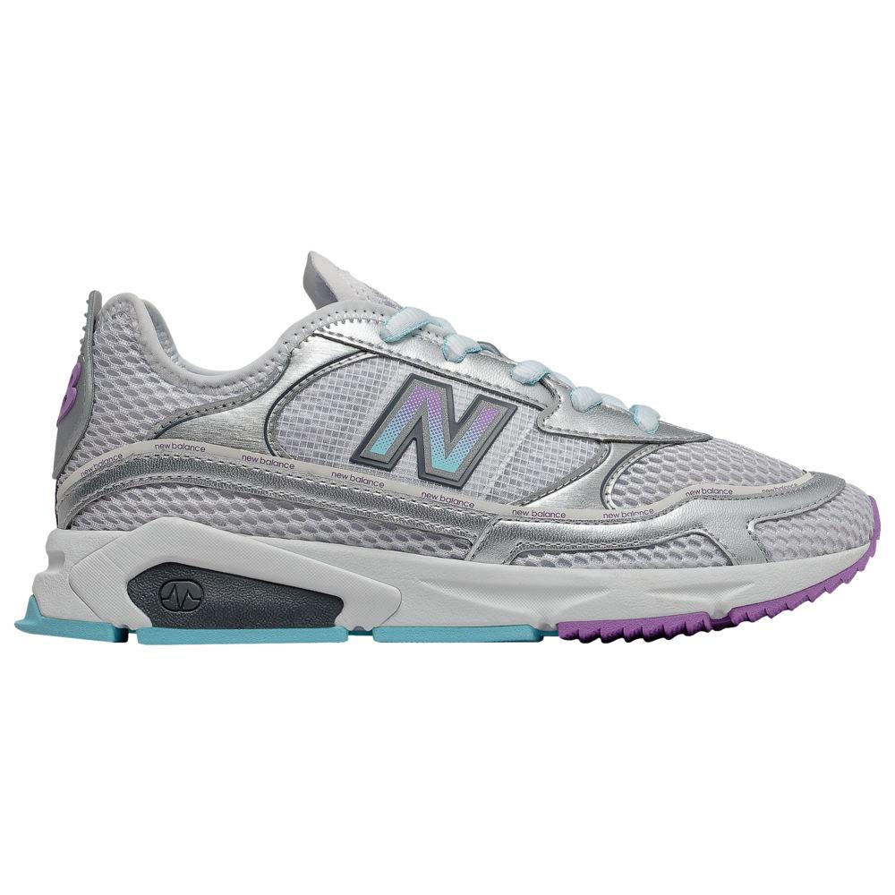ニューバランス New Balance レディース ランニング・ウォーキング シューズ・靴【X-Racer】Silver Metallic/Newport Blue