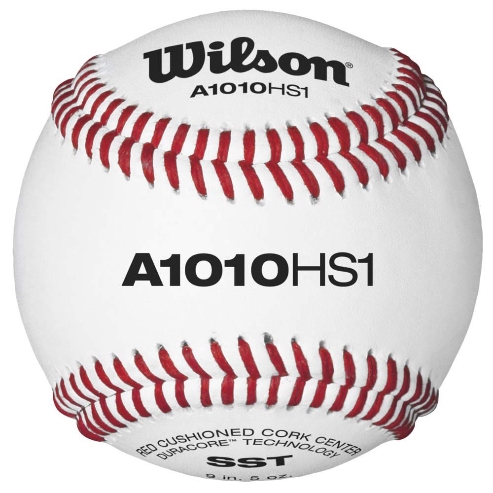 ウィルソン Wilson ユニセックス 野球 【A1010 Baseball W/ NFHS Stamp】Sold as a Dozen NOCSAE Stamped