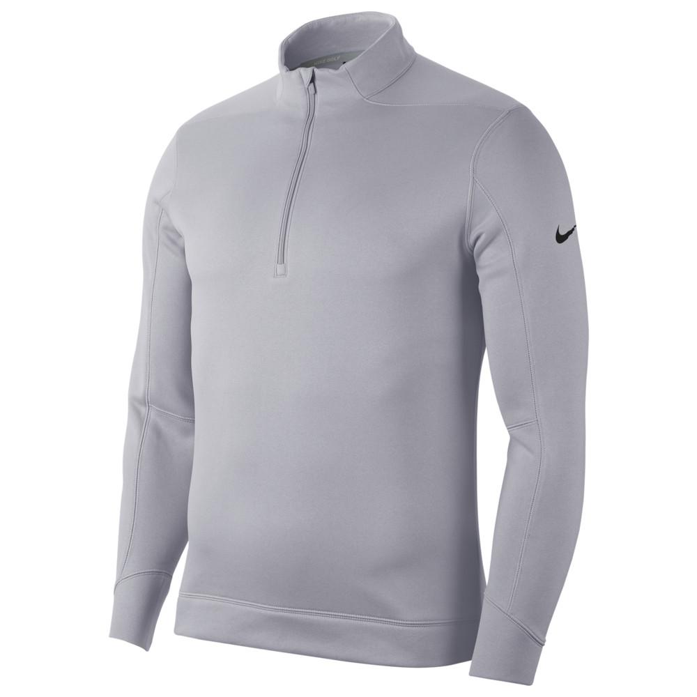 ナイキ Nike メンズ ゴルフ ハーフジップ トップス【Therma Repel 1/2 Zip Golf Top】Sky Grey/Black