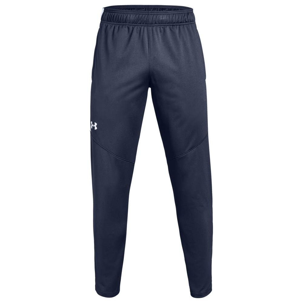 アンダーアーマー Under Armour Team メンズ ボトムス・パンツ 【Team Rival Knit Warm-Up Pants】Midnight/White