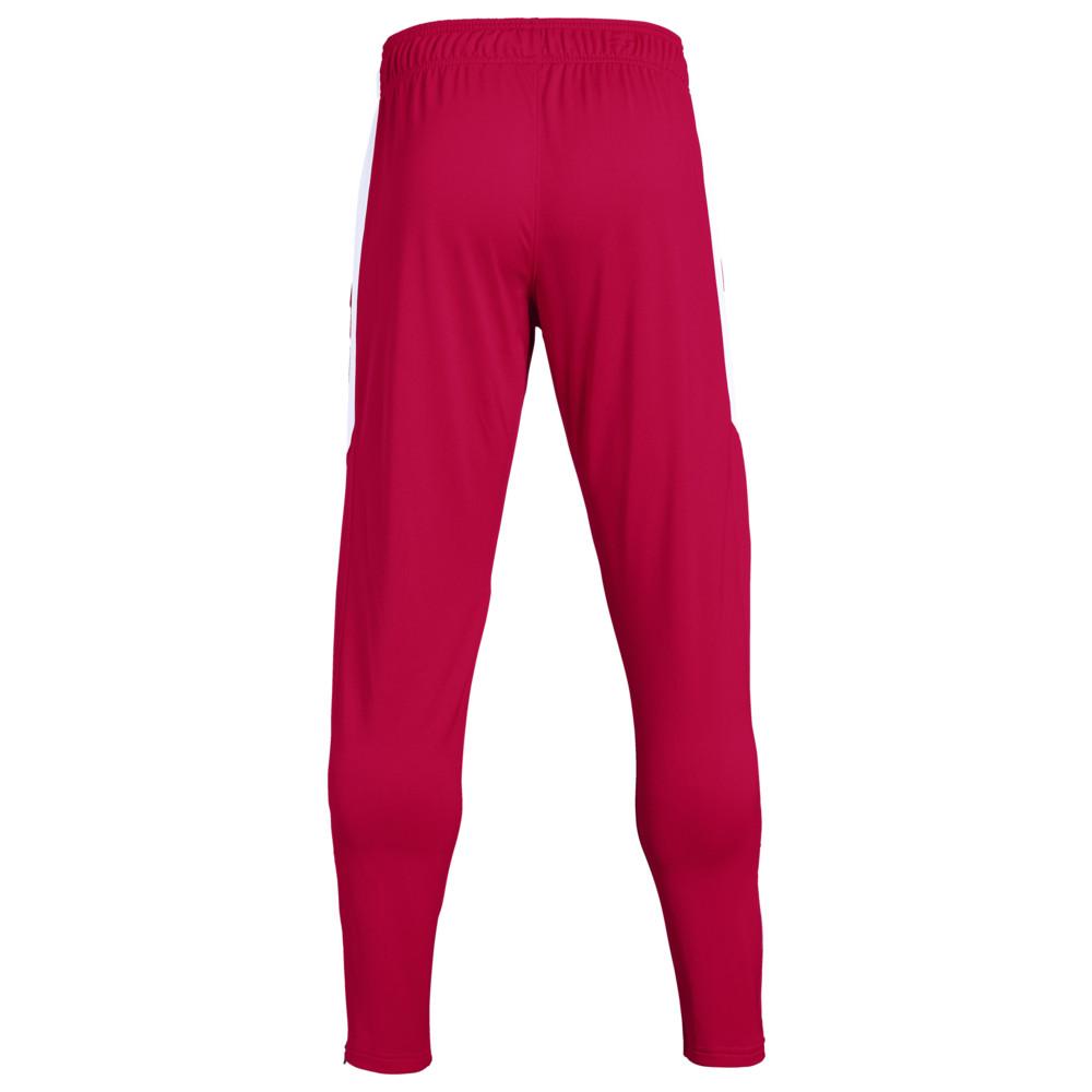 アンダーアーマー Under Armour Team メンズ ボトムス・パンツ 【Team Rival Knit Warm-Up Pants】Red/White