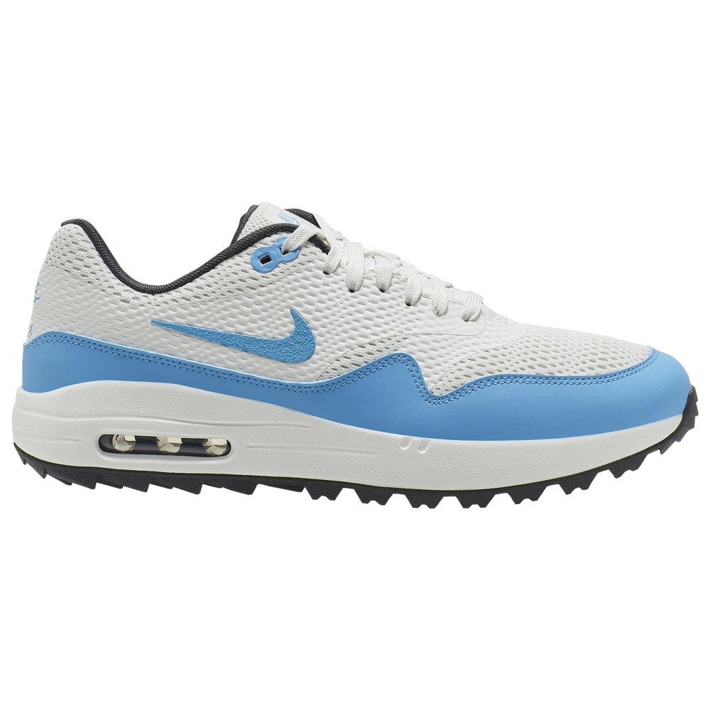 ナイキ Nike メンズ ゴルフ シューズ・靴【Air Max 1 G Golf Shoe】White/University Blue/Anthracite