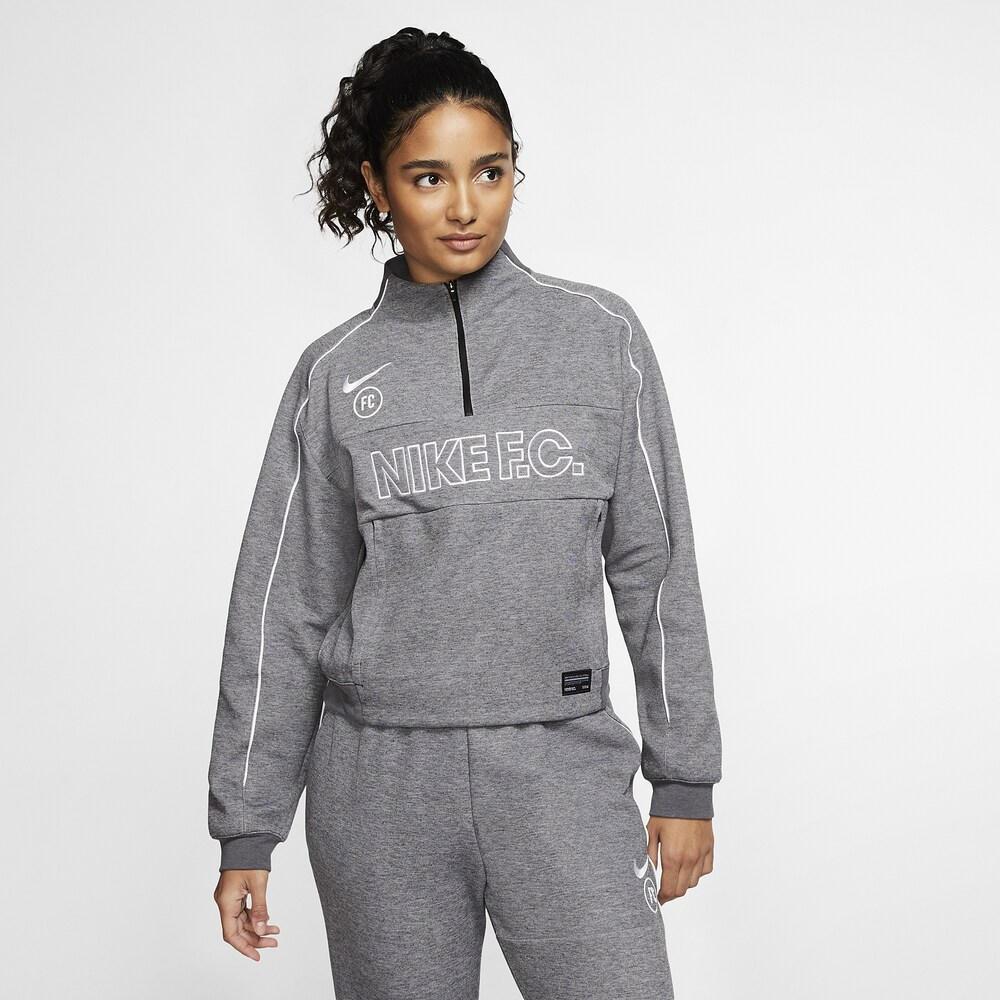 ナイキ Nike レディース サッカー ミッドレイヤー トップス【FC Dry Midlayer】Black/White/White