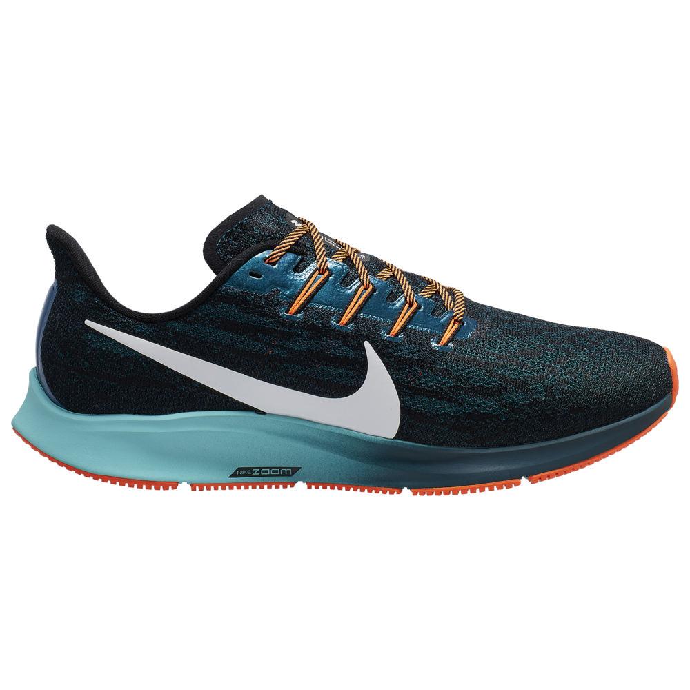 ナイキ Nike メンズ ランニング・ウォーキング エアズーム シューズ・靴【Air Zoom Pegasus 36】Black/Metallic Summit White/Midnight Turquoise Ekiden Pack