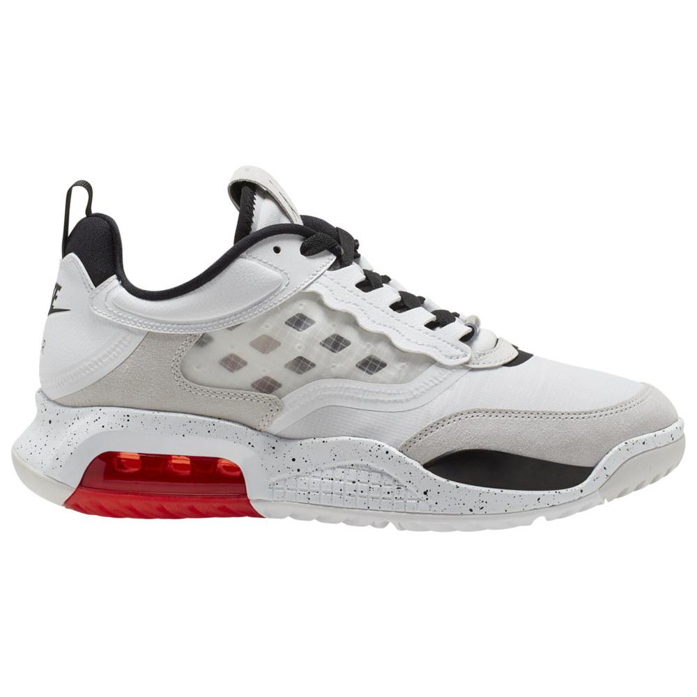 ナイキ ジョーダン Jordan メンズ バスケットボール シューズ・靴【Max 200】White/Black/Challenge Red/Vast Grey