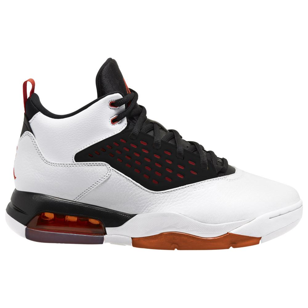 ナイキ ジョーダン Jordan メンズ バスケットボール シューズ・靴【Maxin 200】White/Team Orange/Black