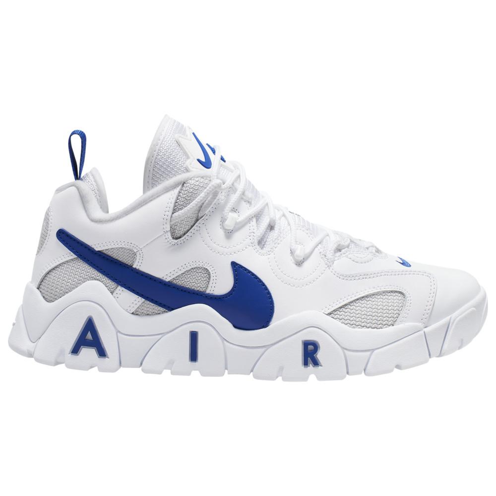 ナイキ Nike メンズ フィットネス・トレーニング シューズ・靴【Air Barrage Low】White/Hyper Blue