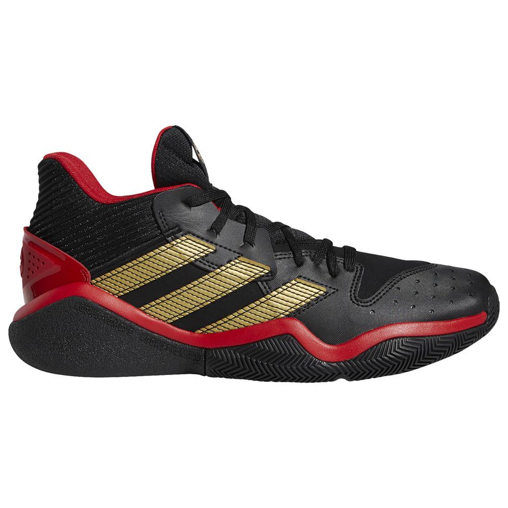 アディダス adidas メンズ バスケットボール シューズ・靴【Harden Stepback】James Harden Black/Gold Metallic/Scarlet