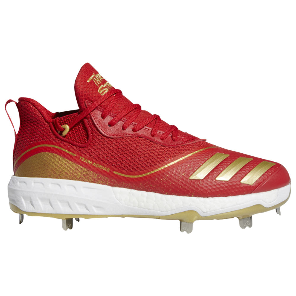 アディダス adidas メンズ 野球 シューズ・靴【Icon V Boost Gold】Scarlet/White/Gold Metallic