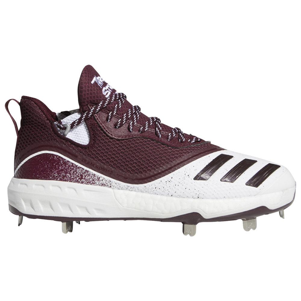 アディダス adidas メンズ 野球 シューズ・靴【Icon V Boost】White/Maroon/Silver Metallic