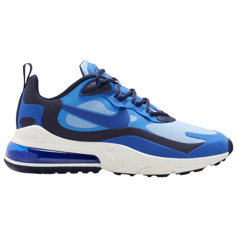 ナイキ Nike メンズ ランニング・ウォーキング エアマックス 270 シューズ・靴【Air Max 270 React】Pacific Blue/Hyper Blue/University Blue