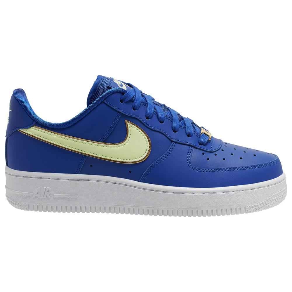ナイキ Nike レディース バスケットボール エアフォースワン シューズ・靴【Air Force 1 07 LE Low】Hyper Blue/Barely Volt/Hyper Blue Essential
