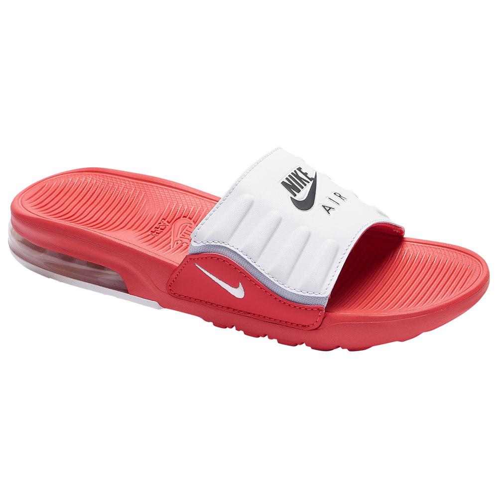 ナイキ Nike レディース サンダル・ミュール シューズ・靴【Air Max Camden Slide】Track Red/White/Black/Sky Grey