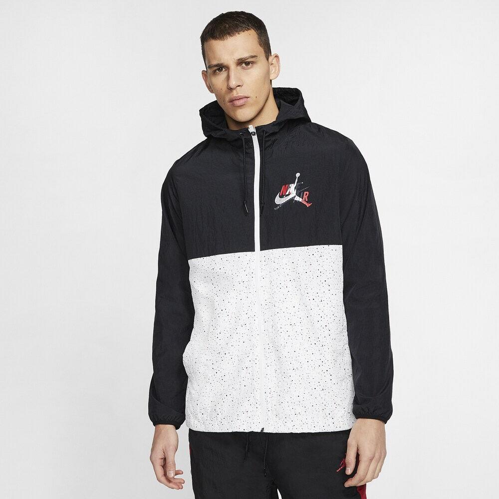 ナイキ ジョーダン Jordan メンズ バスケットボール ジャンプマン ジャケット アウター【Jumpman Classics Windwear Jacket】Black/Gym Red/White