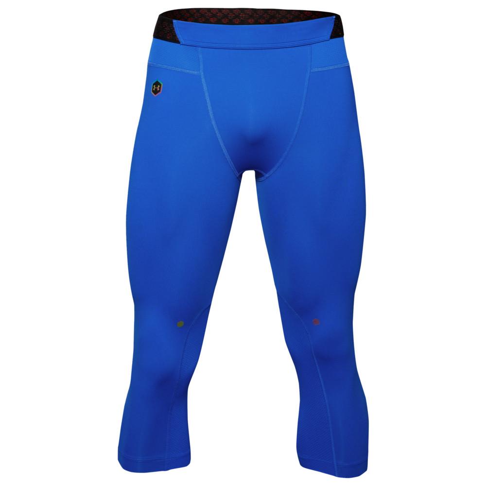 アンダーアーマー Under Armour メンズ フィットネス・トレーニング タイツ・スパッツ ボトムス・パンツ【Rush Compression 3/4 Leggings】Versa Blue/Black
