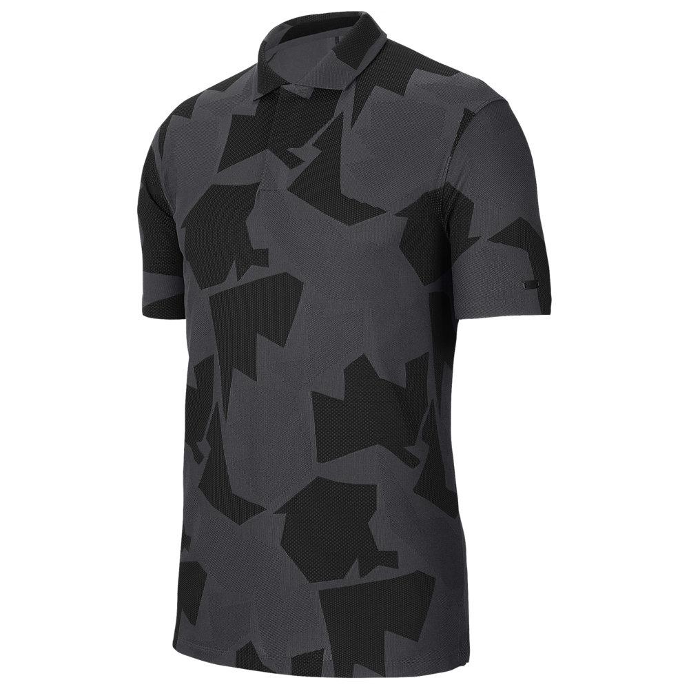 ナイキ Nike メンズ ゴルフ ポロシャツ トップス【TW Dry Camo Jaquard Golf Polo】Dark Smoke Grey/Grey/Black