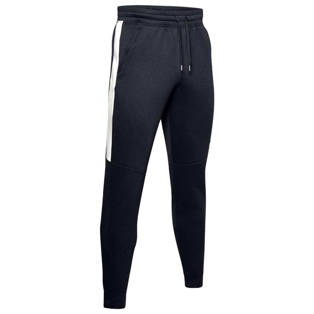アンダーアーマー Under Armour メンズ フィットネス・トレーニング ボトムス・パンツ【Recover Fleece Pants】Black/Onyx White/Met Silver