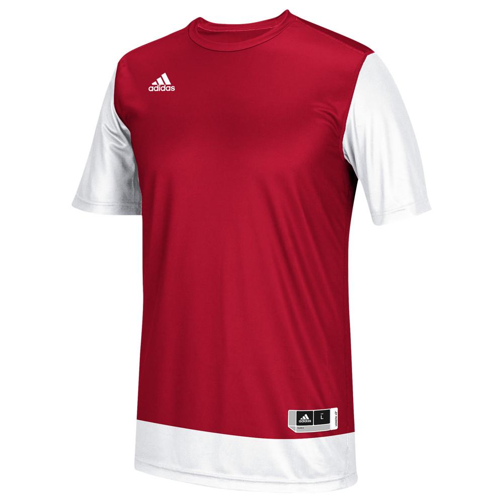 アディダス adidas メンズ バスケットボール トップス【Team Crazy Explosive Shooting Shirt】Power Red/White