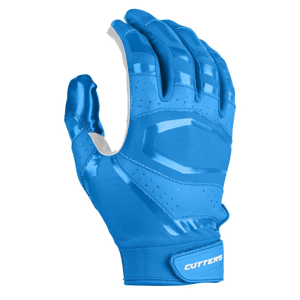 カッターズ Cutters メンズ アメリカンフットボール レシーバーグローブ グローブ【Rev Pro 3.0 Solid Receiver Gloves】Columbia Blue Exclusive