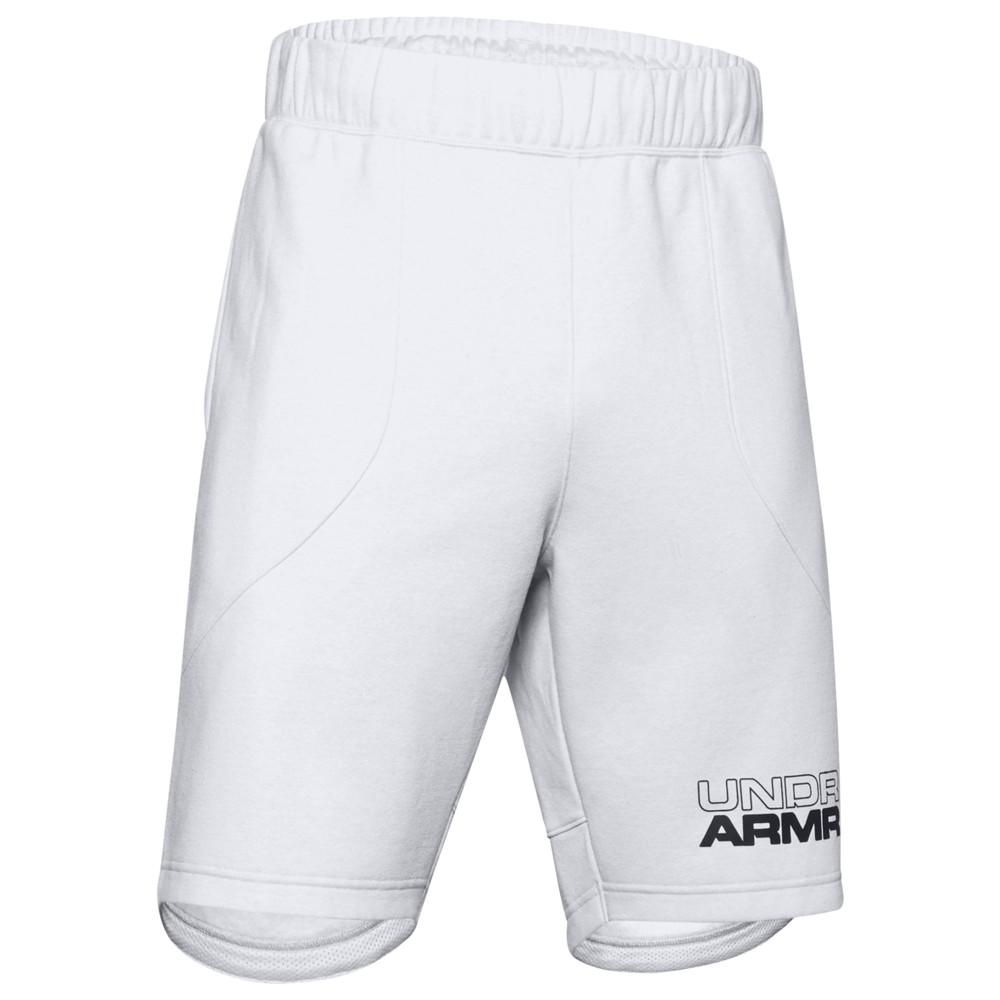 アンダーアーマー Under Armour メンズ バスケットボール ショートパンツ ボトムス・パンツ【Baseline Fleece Shorts】Halo Grey Light Heather/Black